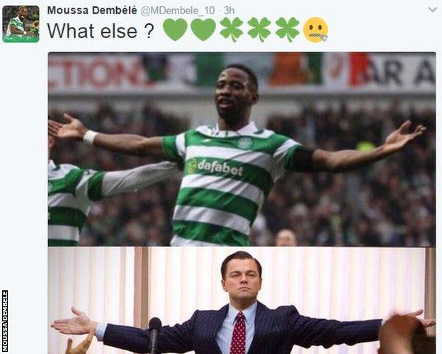 Moussa Dembele on Twitter